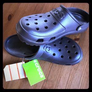 NEW with tags Crocs hili clog Mahogany